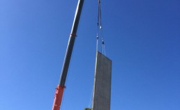 Structural Steel and Precast Panel Erection3