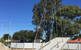Structural Steel and Precast Panel Erection5